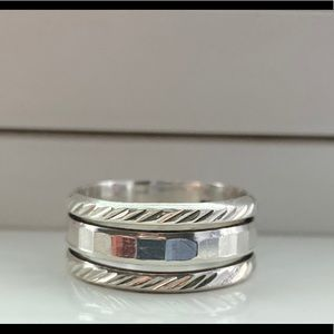 3 wrap 925 Sterling Silver Ring